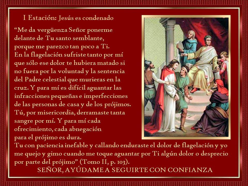 I Estación: Jesús es condenado