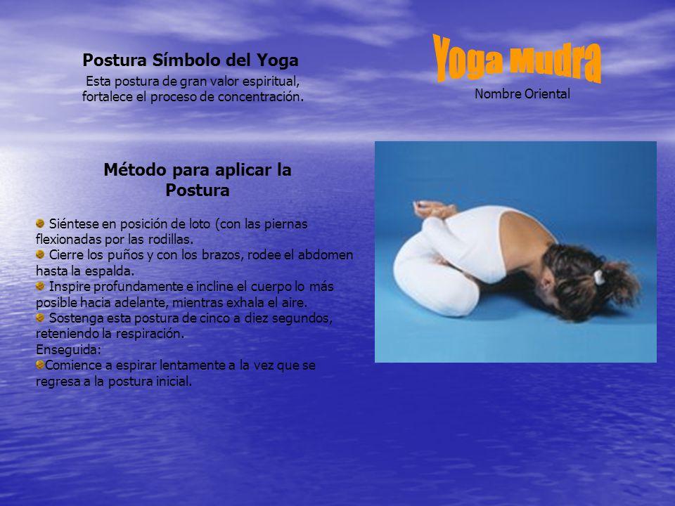 Postura Símbolo del Yoga