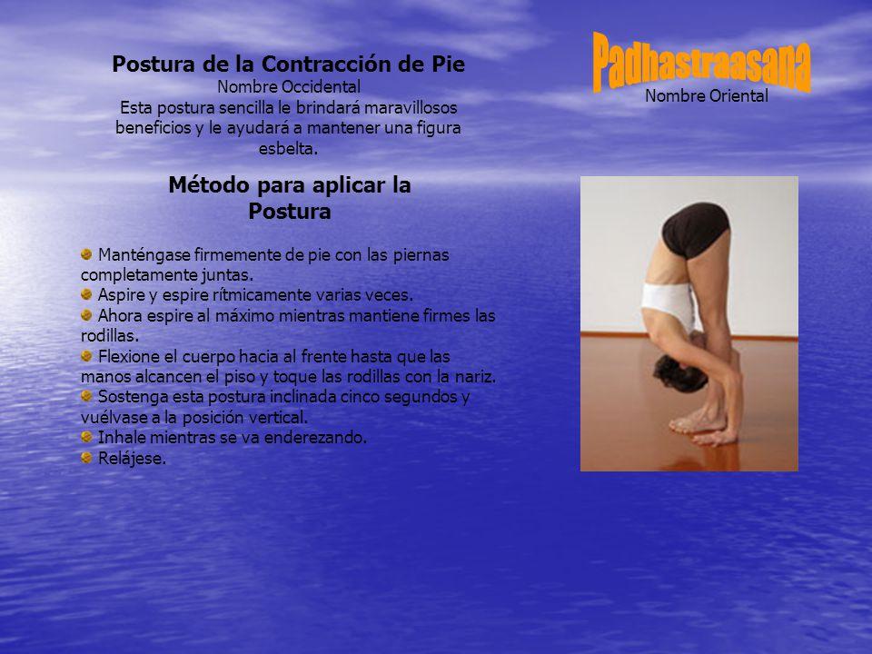 Postura de la Contracción de Pie