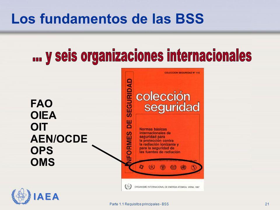 ... y seis organizaciones internacionales