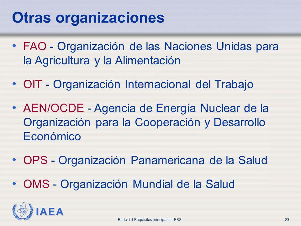 Otras organizaciones FAO - Organización de las Naciones Unidas para la Agricultura y la Alimentación.