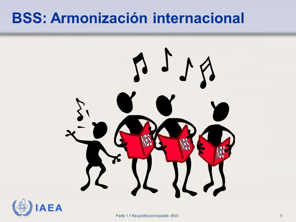 BSS: Armonización internacional