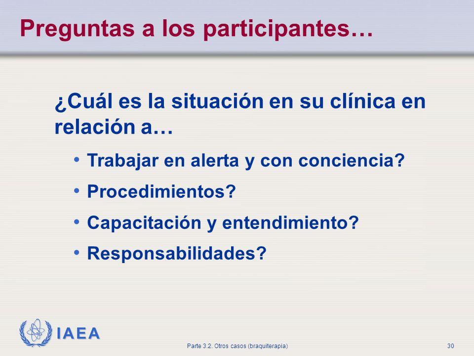 Preguntas a los participantes…