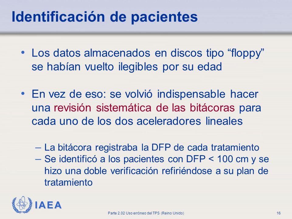 Identificación de pacientes