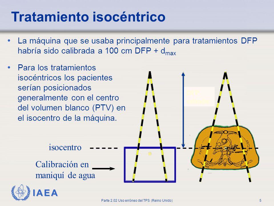 Tratamiento isocéntrico