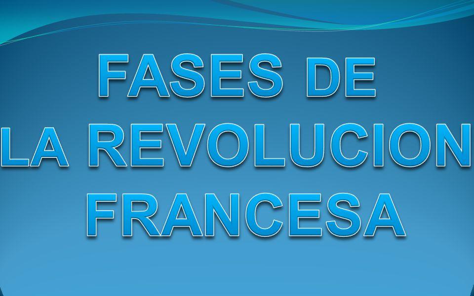 FASES DE LA REVOLUCION FRANCESA