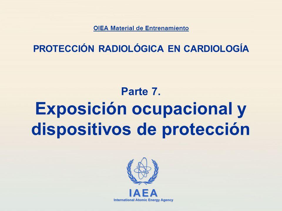 Parte 7. Exposición ocupacional y dispositivos de protección