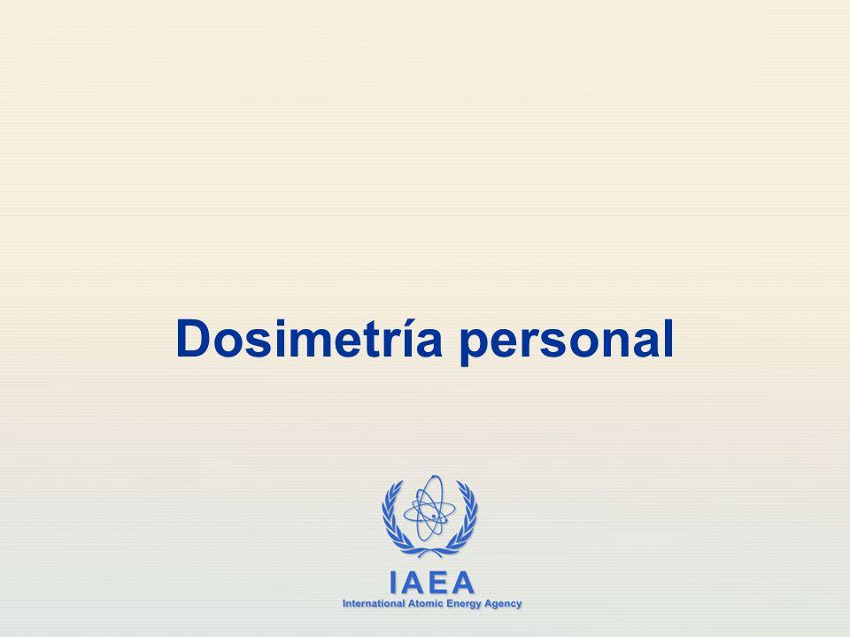 Dosimetría personal
