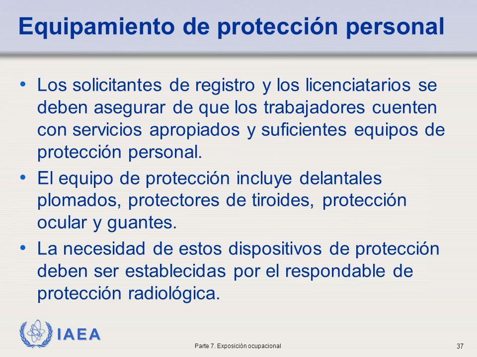 Equipamiento de protección personal