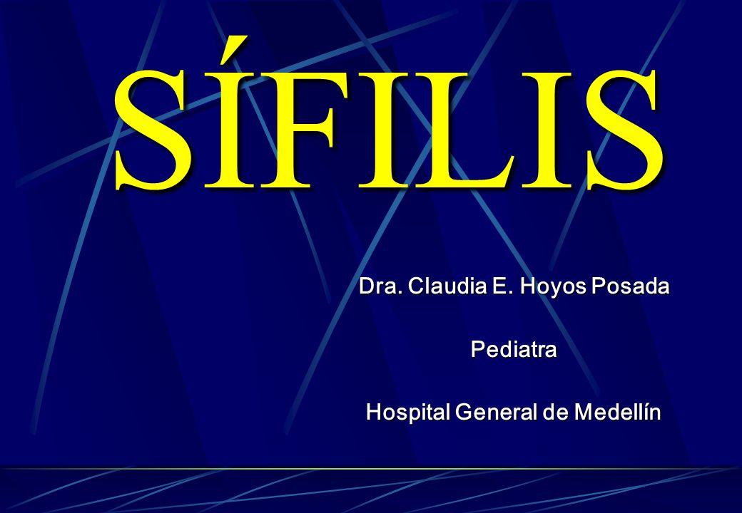 Dra. Claudia E. Hoyos Posada Hospital General de Medellín