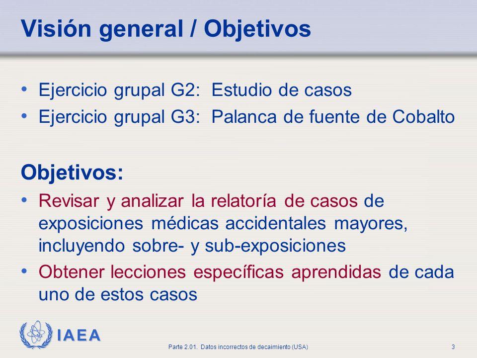 Visión general / Objetivos