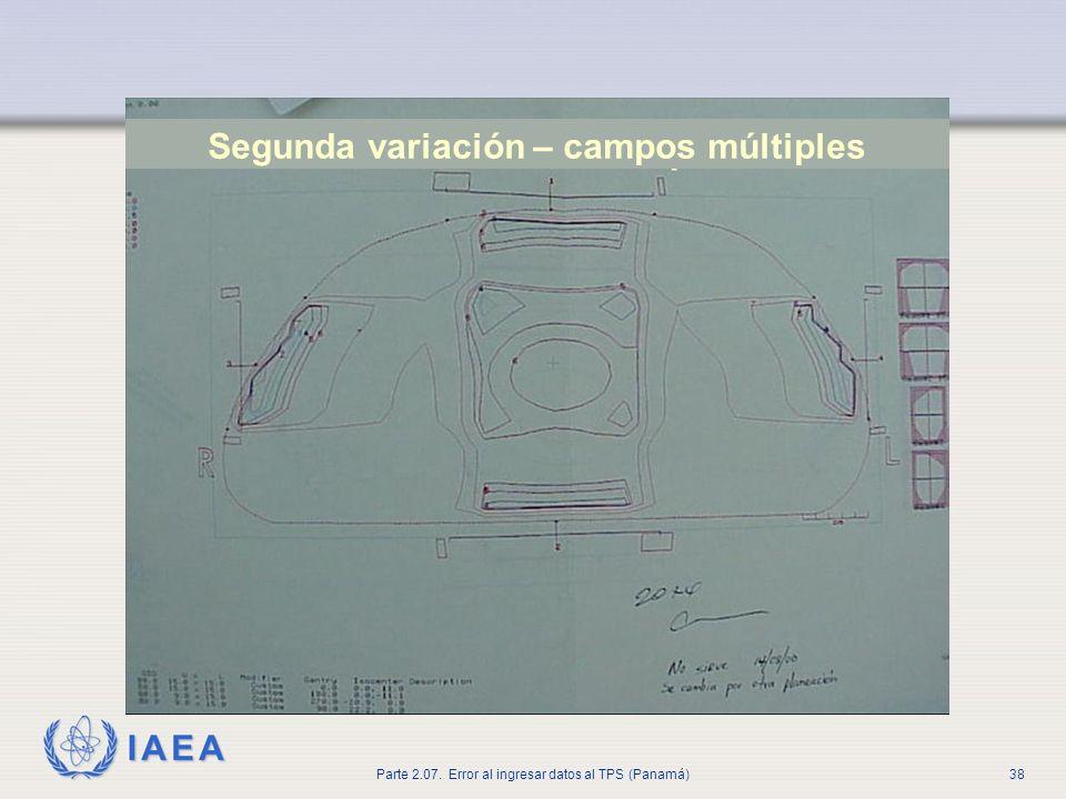 Segunda variación – campos múltiples