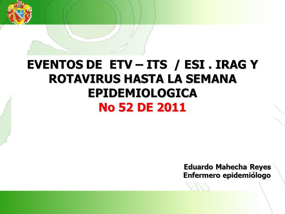 EVENTOS DE ETV – ITS / ESI