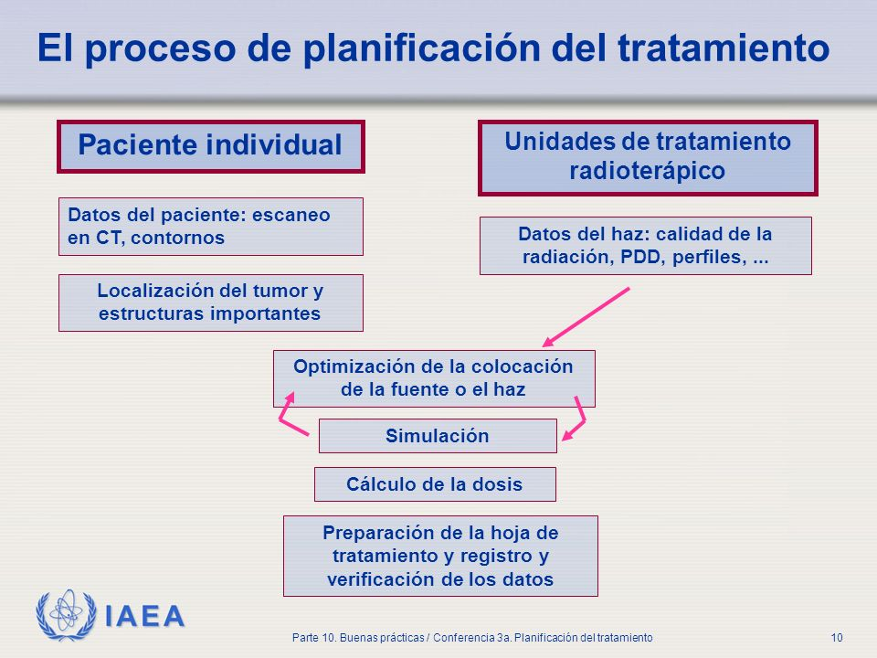 El proceso de planificación del tratamiento