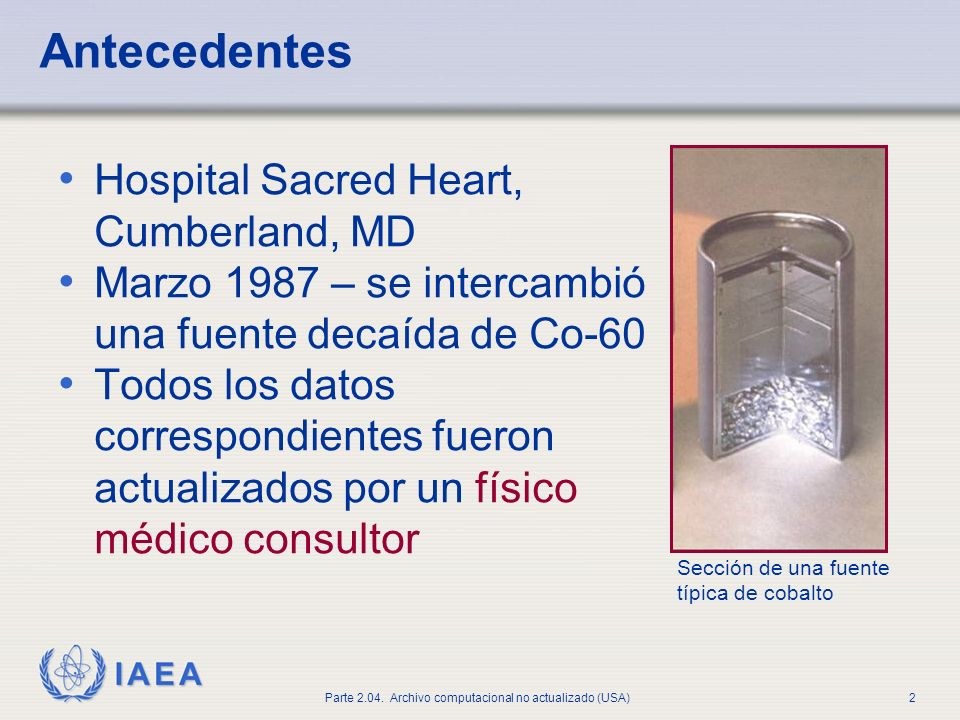 Antecedentes Hospital Sacred Heart, Cumberland, MD