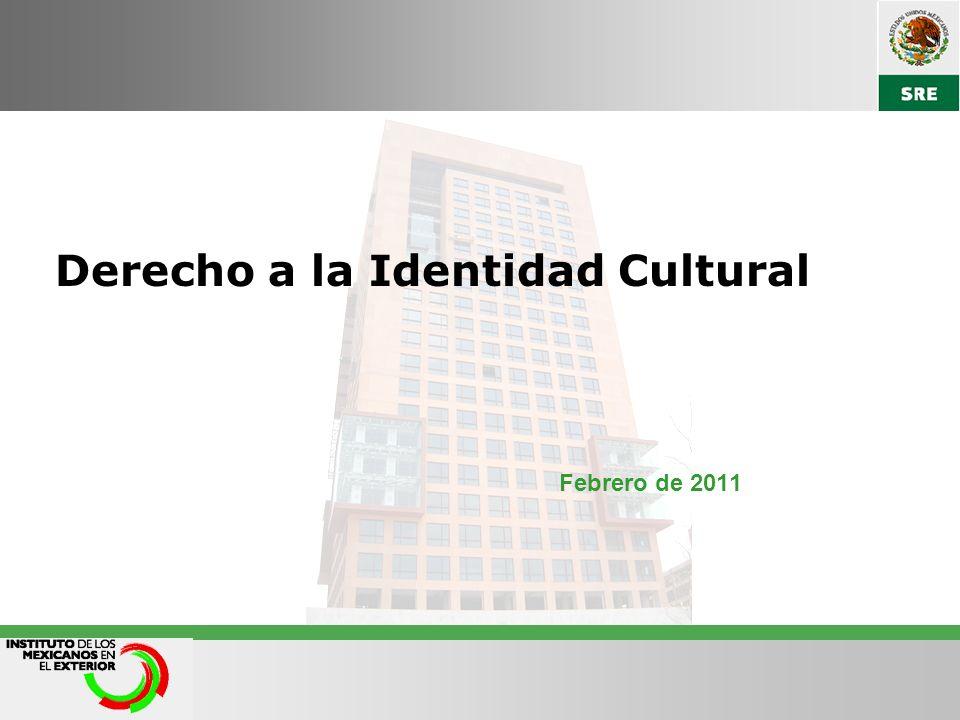 Derecho a la Identidad Cultural