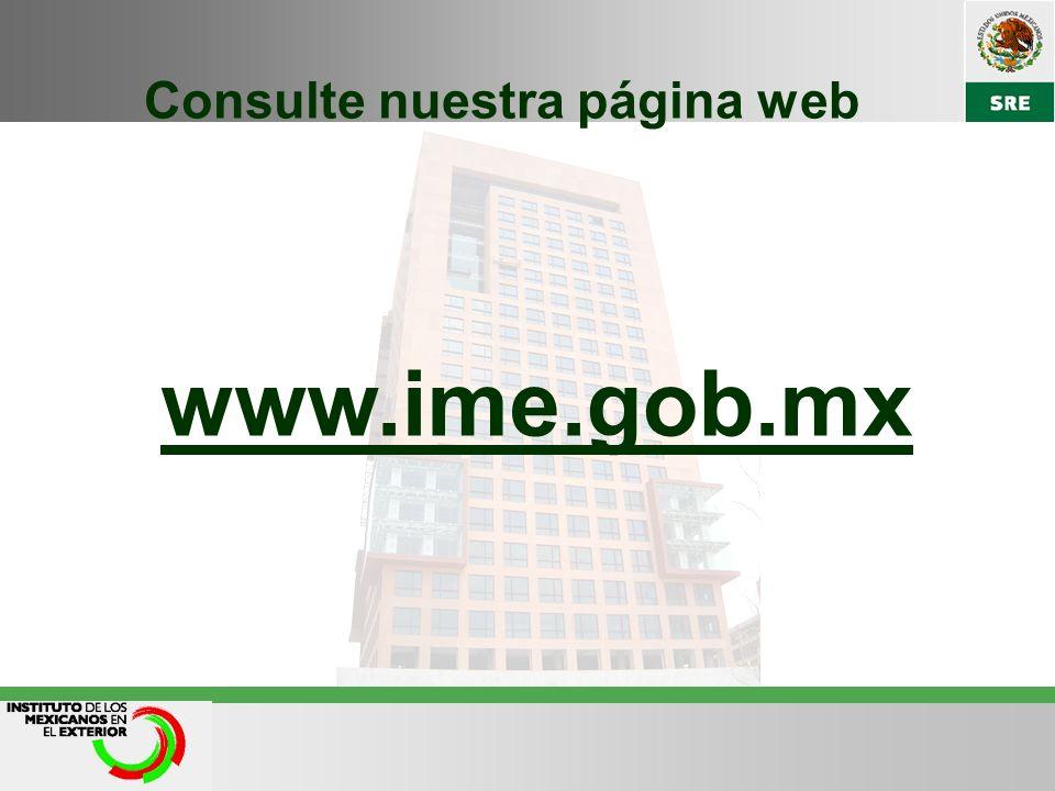Consulte nuestra página web