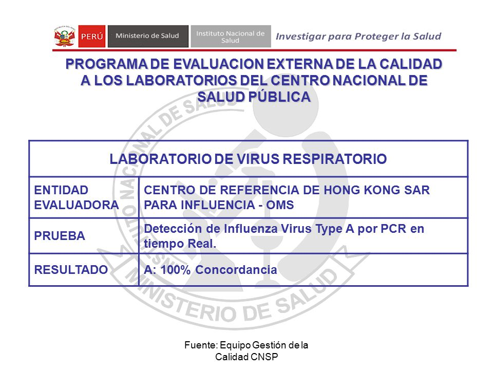 LABORATORIO DE VIRUS RESPIRATORIO
