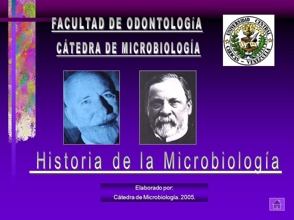 CÁTEDRA DE MICROBIOLOGÍA