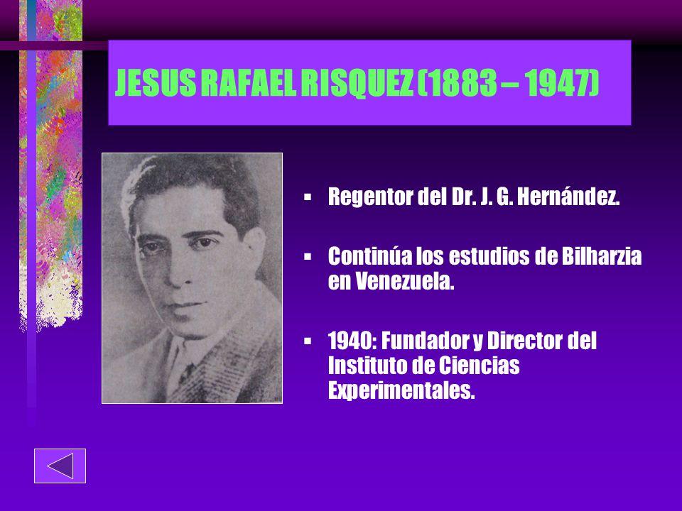 JESUS RAFAEL RISQUEZ (1883 – 1947)