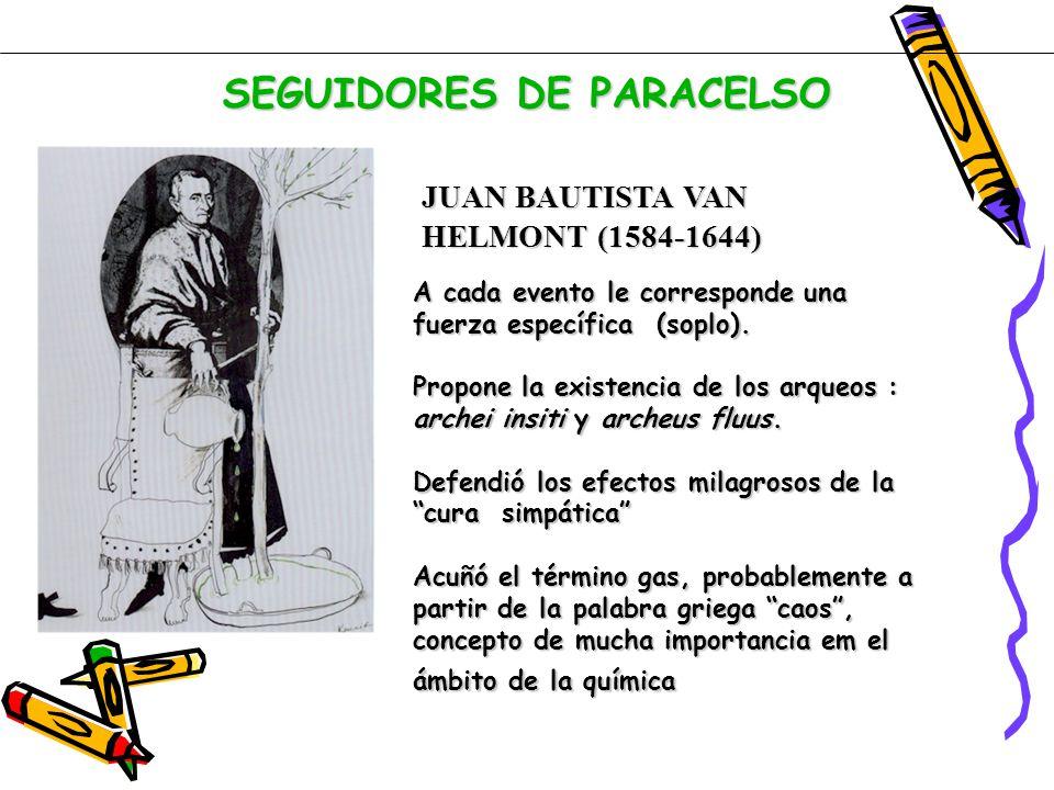 SEGUIDORES DE PARACELSO
