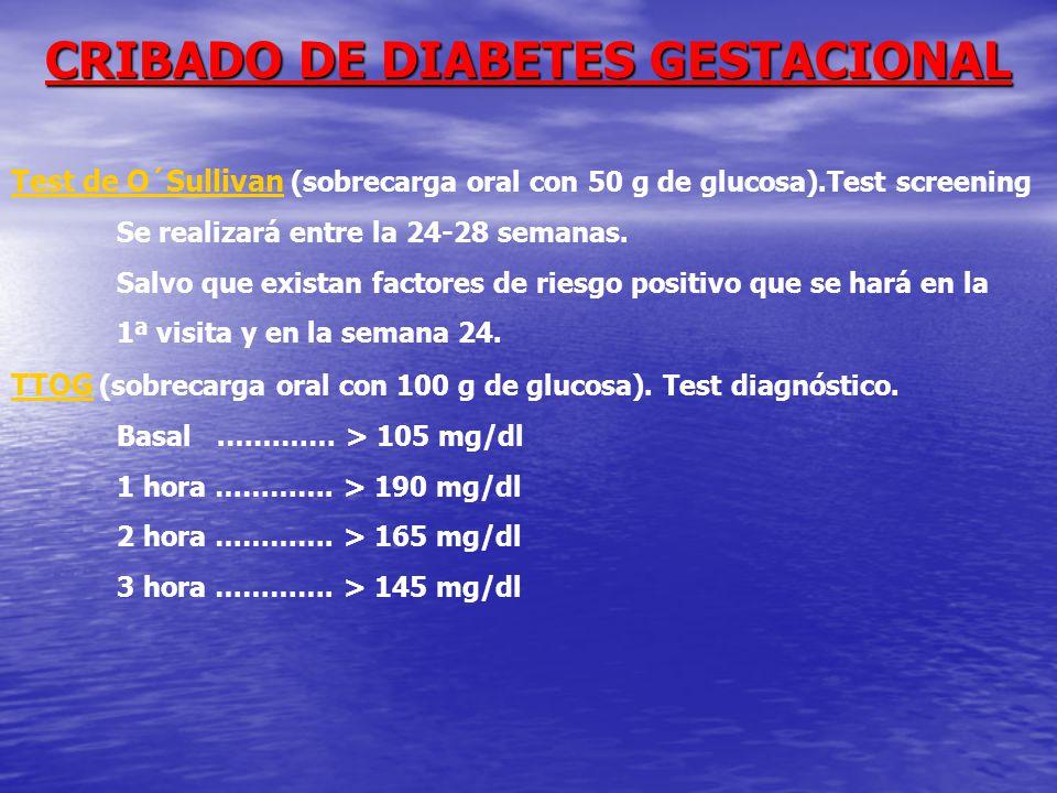 CRIBADO DE DIABETES GESTACIONAL