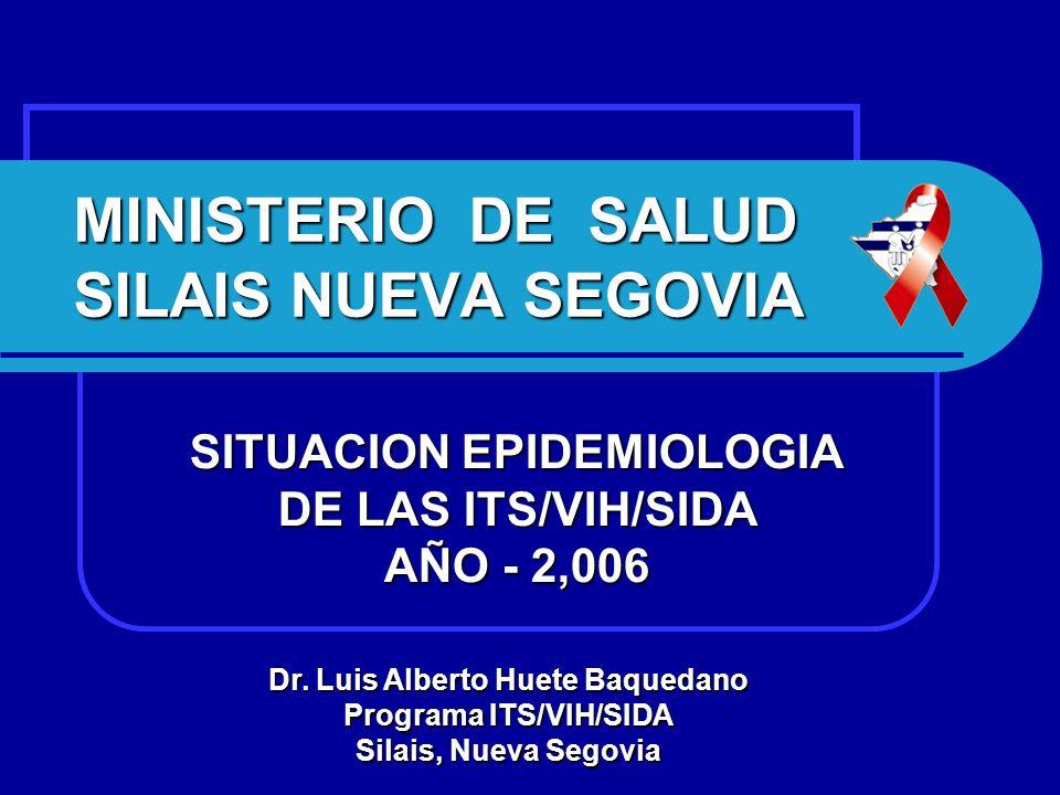 MINISTERIO DE SALUD SILAIS NUEVA SEGOVIA