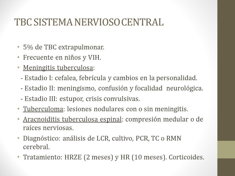TBC SISTEMA NERVIOSO CENTRAL