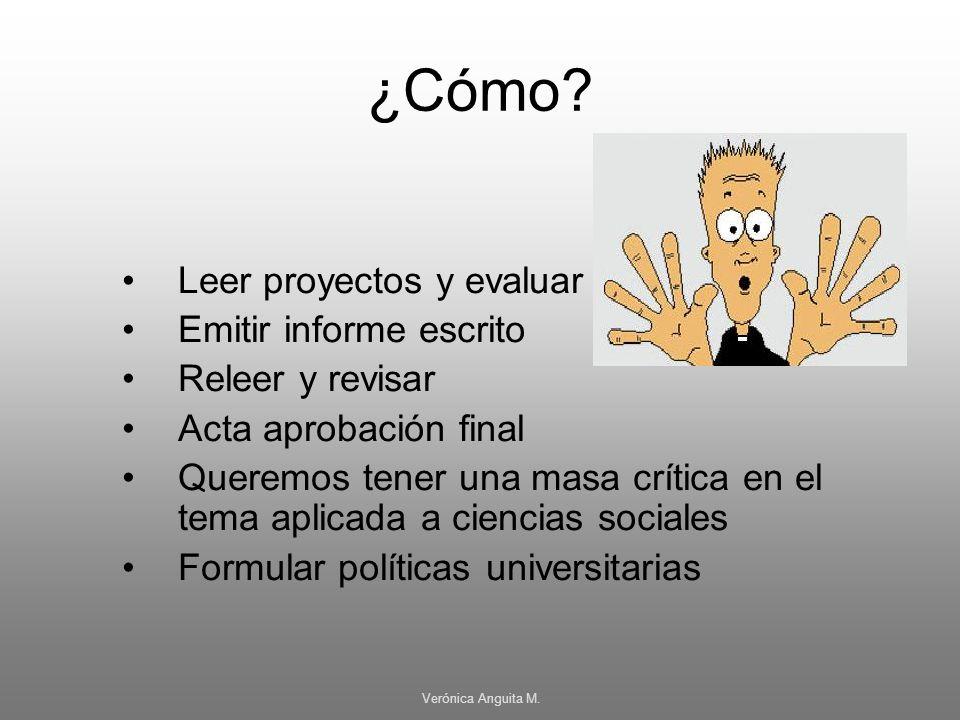 ¿Cómo Leer proyectos y evaluar Emitir informe escrito