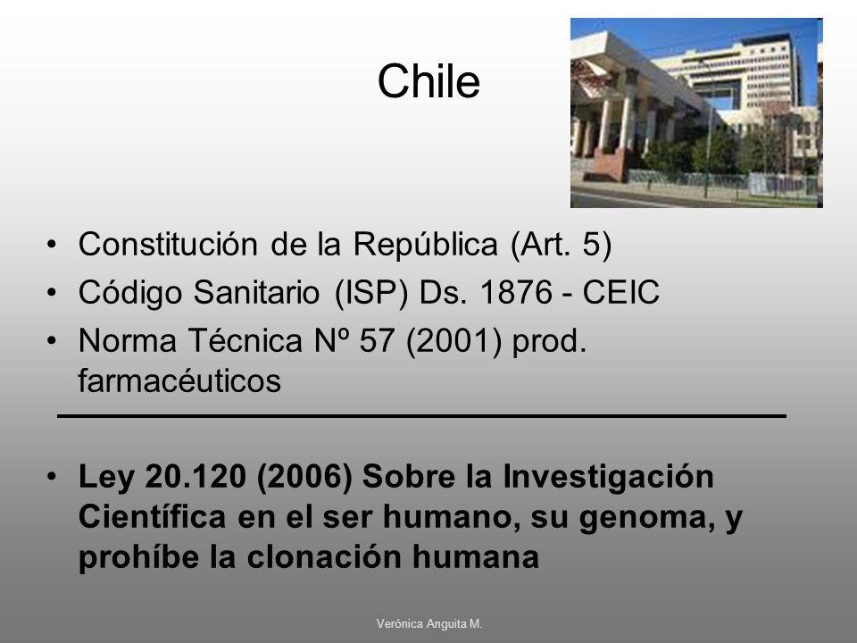 Chile Constitución de la República (Art. 5)