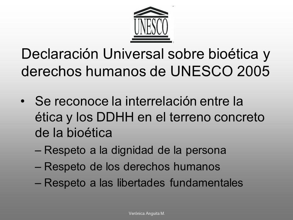 Declaración Universal sobre bioética y derechos humanos de UNESCO 2005
