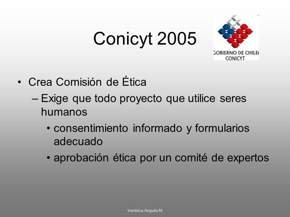 Conicyt 2005 Crea Comisión de Ética