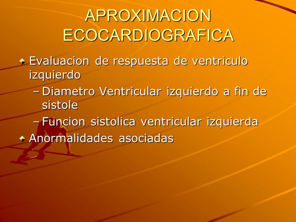 APROXIMACION ECOCARDIOGRAFICA