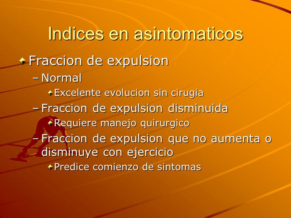 Indices en asintomaticos