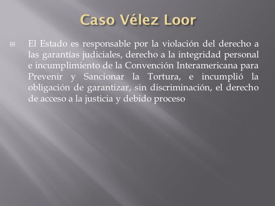 Caso Vélez Loor