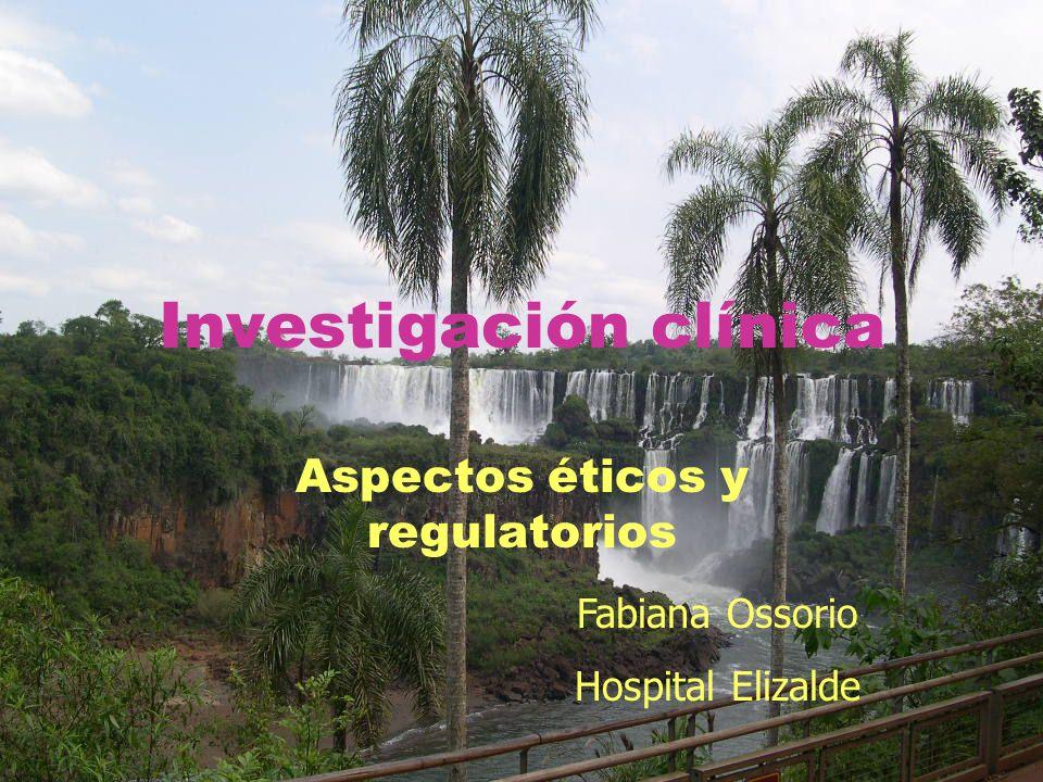 Investigación clínica