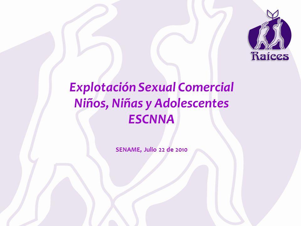 Explotación Sexual Comercial Niños, Niñas y Adolescentes ESCNNA