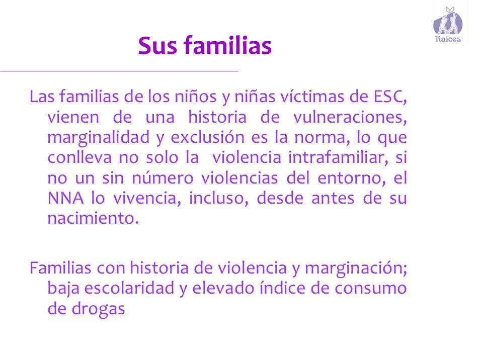 Sus familias