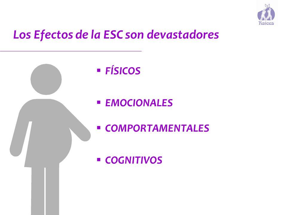Los Efectos de la ESC son devastadores