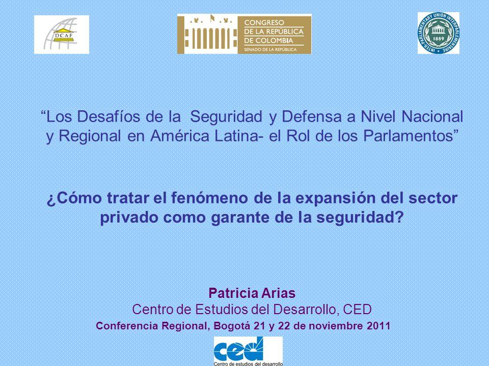 Conferencia Regional, Bogotá 21 y 22 de noviembre 2011