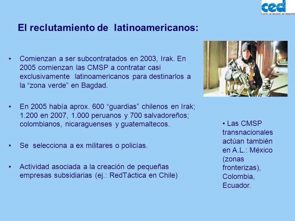 El reclutamiento de latinoamericanos: