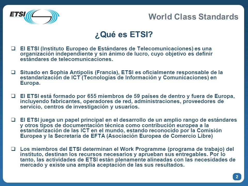 ¿Qué es ETSI
