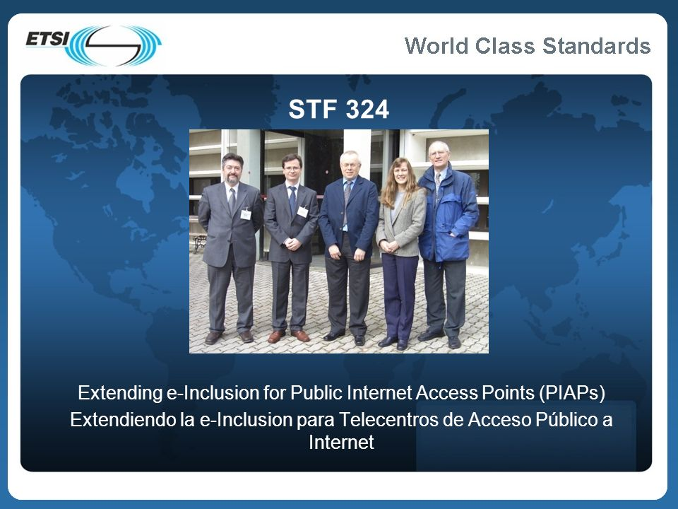 Extending e-Inclusion for Public Internet Access Points (PIAPs)