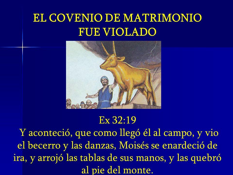 EL COVENIO DE MATRIMONIO FUE VIOLADO