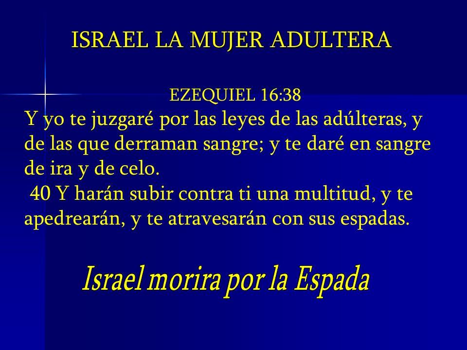 Israel morira por la Espada
