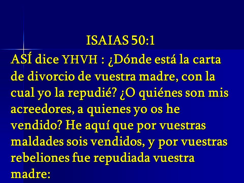 ISAIAS 50:1
