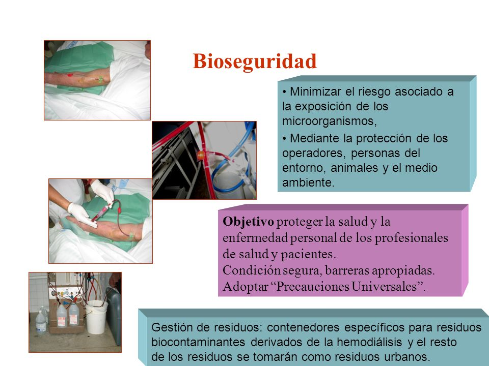 Bioseguridad Minimizar el riesgo asociado a la exposición de los microorganismos,