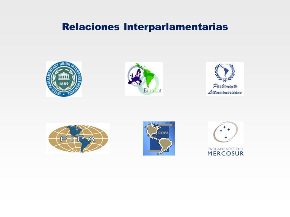 Relaciones Interparlamentarias