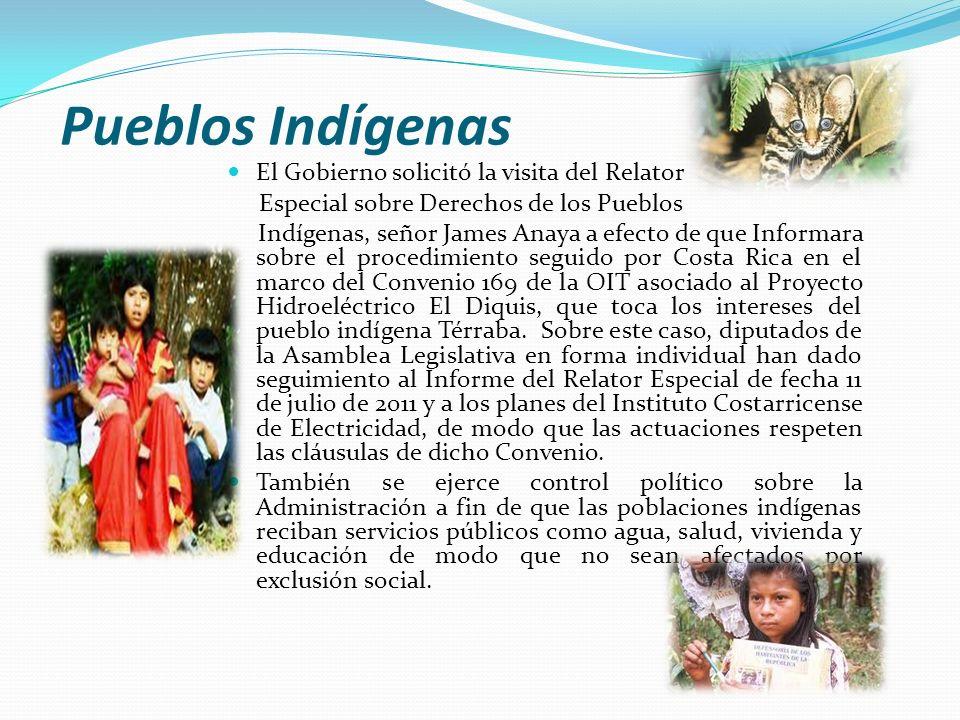 Pueblos Indígenas El Gobierno solicitó la visita del Relator