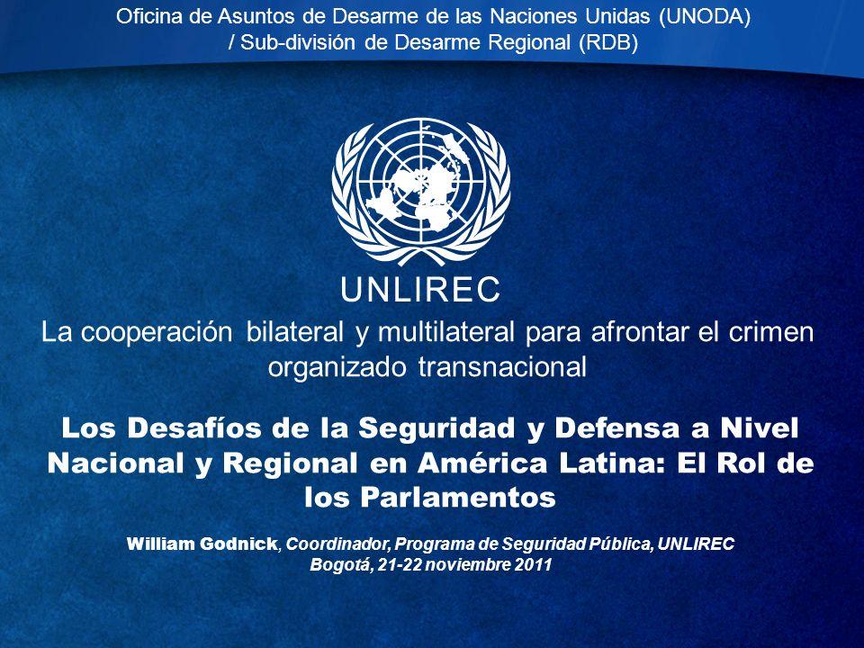 Oficina de Asuntos de Desarme de las Naciones Unidas (UNODA)